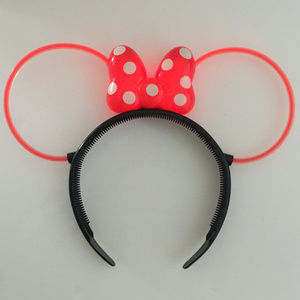 EUC Disney Minnie Mouse Light-up Hair Band